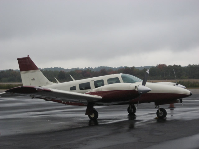Side view of our aircraft